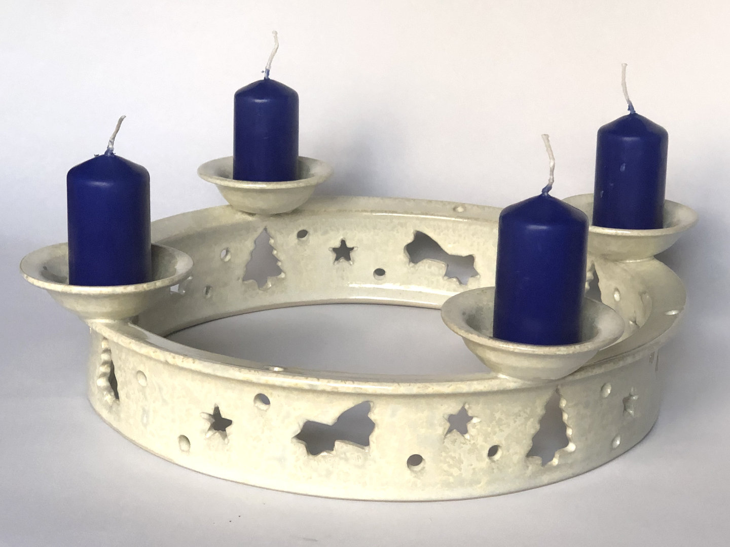 Advent Wreath With Four Candle Holders